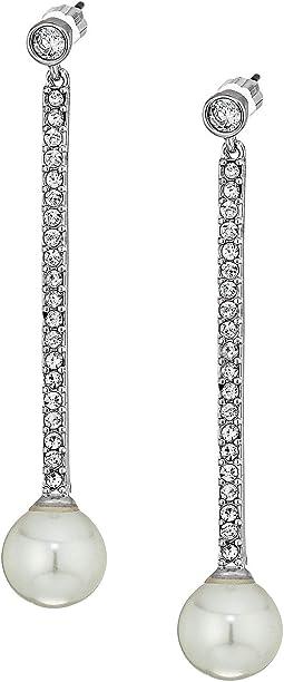 Kate Spade New York - Precious Pearls Linear Earrings