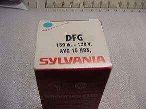 Sylvania 150 Watt 120 Volt DFG Projection Lamp for movie projector