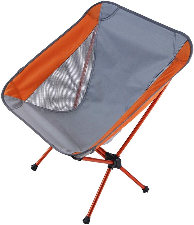 WYJQZ Aluminum Beach Chair Fishing Chair Ultra Light Portable Moon Chair
