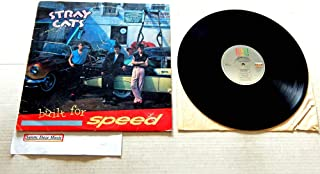 Stray Cats Built For Speed - EMI America Records 1982 - Used Vinyl LP Record - 1982 Pressing ST-17070 - Stray Cat Strut - Rock This Town - Double Talkin' Baby - Rumble In Brighton