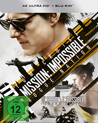 Mission: Impossible 5 - Rogue Nation (4K Ultra HD) (+ Blu-ray) limitiertes Steelbook (exklusiv bei Amazon.de)