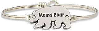 Mama Bear Bangle Bracelet for Women Made in USA