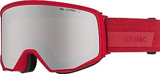 Atomic, Alla bergsklättring skidglasögon, unisex, för molnigt till soligt väder, innehåller 2 skivor, stor passform, Quick...