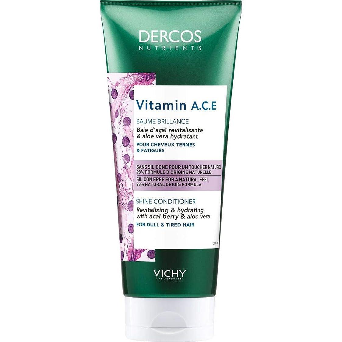 物質ハンバーガー評議会[Vichy ] 栄養素のビタミンA.C.E輝きコンディショナー200Ml Dercosヴィシー - Vichy Dercos Nutrients Vitamin A.C.E Shine Conditioner 200ml [並行輸入品]
