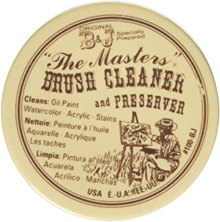 General Pencil Company Inc, The Masters Brush Cleaner & Preserver 1 Oz.