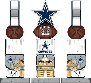 Evergreen Team Sports America NFL Dallas Cowboys 16 Inch Tiki Totem