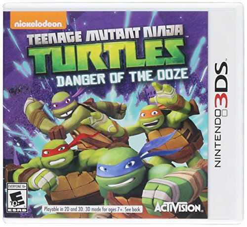 Teenage Mutant Ninja Turtles: Danger of the OOZE – Nintendo 3DS