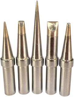 Quality ShineNow ET Replacement Soldering Tips for Weller WES51 WESD51 WE1010NA PES51 (5PCS Tip Set)