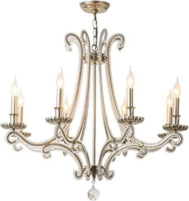 Kronleuchter Deckenpendelleuchte Schatten Kronleuchter Acryl Single Head Einfache Macaron Led Lampe 32 cm x 25 cm Gr/ö/ße, 48,5 cm x 25 cm