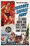 Tarzan'S Savage Fury U Movie Poster Masterprint (27,94 x