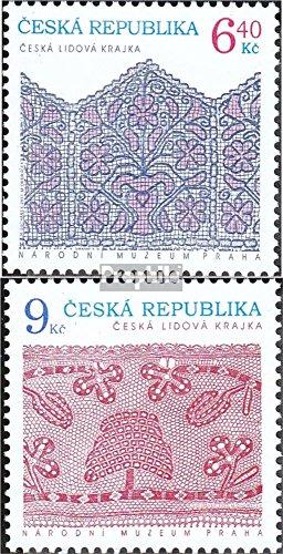 république tchèque mer.-no.: 351-352 (complète.Edition.) 2003 Art (Timbres pour Les collectionneurs) Peinture