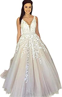 Best blush colored wedding dresses with sleeves Reviews