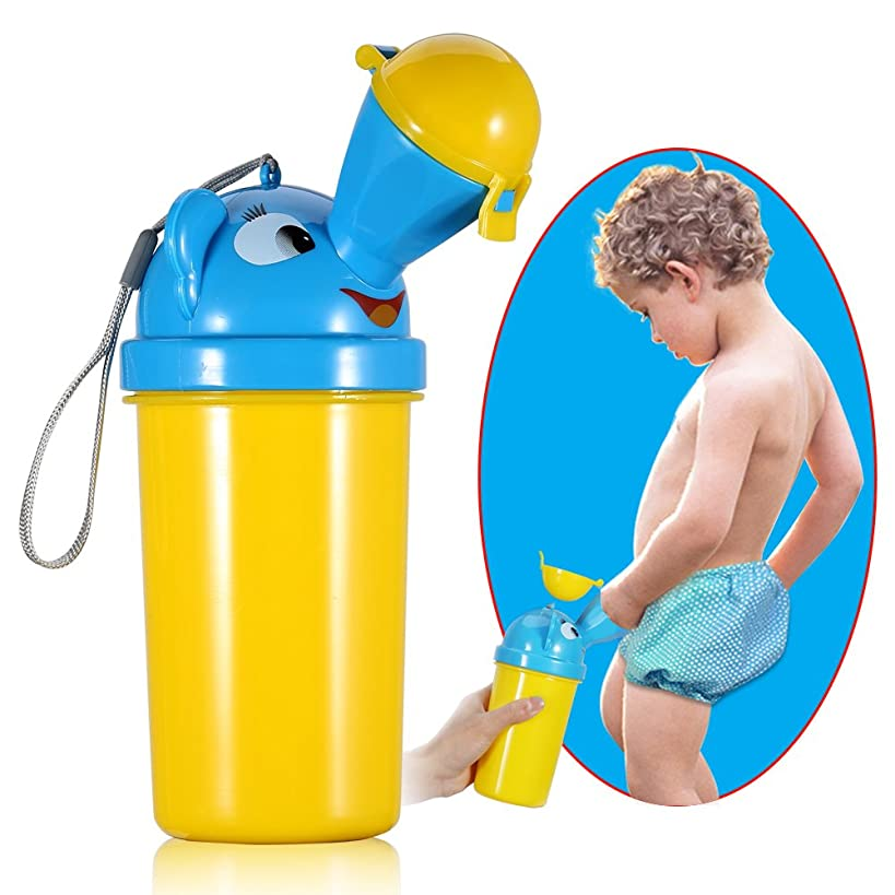 ONEDONE Portable Baby Child?Potty?Urinal Emergency Toilet for Camping Car Travel and Kid Potty Pee Training (boy)