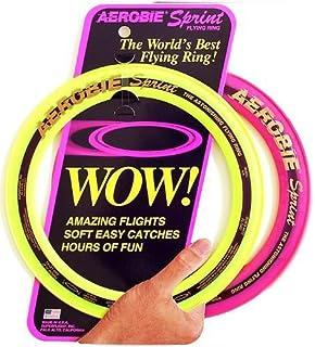 "Aerobie Sprint Flying Ring, 10"" Diameter, Assorted Colors, Set of 2"