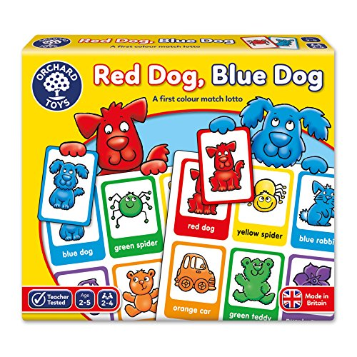 Orchard Toys Roter Hund, Blauer Hund Spiel Red Dog, Blue Dog