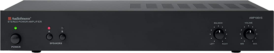AudioSource Analog Amplifier, Stereo Power A Amplifier AMP100VS for Home Sound Systems