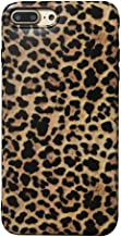 WSMAX iPhone 7 Plus Case, iPhone 8 Plus Case, Leopard Grain Shockproof Cover for Apple 5.5