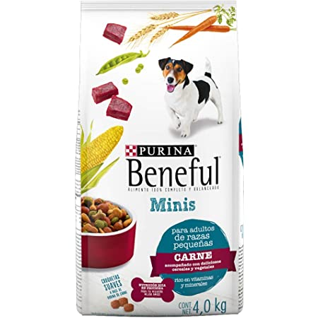 Beneful Minis Carne Adulto Raza Pequeña 4 Kg, 1 Pouch