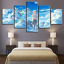 Painting Canvas HD Print Style Anime Cartoon Character Ghoul Poster Wall Art 5 Panel Cuff Ken Picture