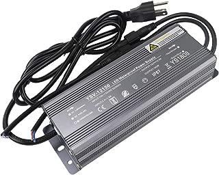 LEDENET 150 Watt Waterproof LED Power Suppply Driver Transformer Ac 90-130 Volt to 12 Volt DC Output