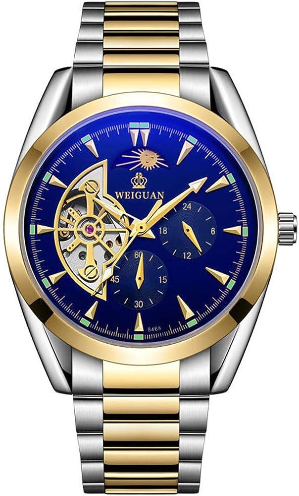 None_branded,orologio,cronografo da uomo,automatico,in acciaio placcato oro lyp1wxe4143183