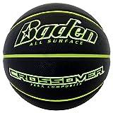 Baden Crossover Flex Composite Basketball, Black/Green, 29.5 inch