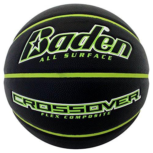 Baden Crossover Flex Composite Basketball Black/Green 275 inch