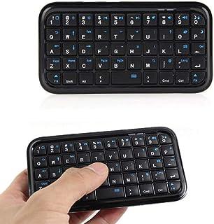 Aylincoolキーボード、キーパッド、タブレット用PS4電話Raspberry Pi用ワイヤレスミニキーボード充電式Bluetoothキーボード
