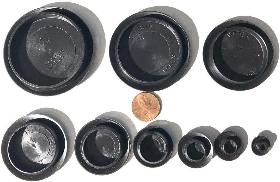 90 Piece Flush Mount Financial sales sale Black Hole Assortment Rapid rise Plug for an Auto Body