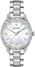 Ladies' Bulova Diamond Collection Gold-Tone Stainless Steel Diamond Accent Watch 98R228