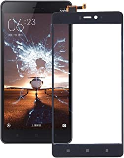 QFH For Xiaomi Mi 4c / 4i Touch Panel(Black) قطع غيار لوحة اللمس للهاتف المحمول (Color : Black)