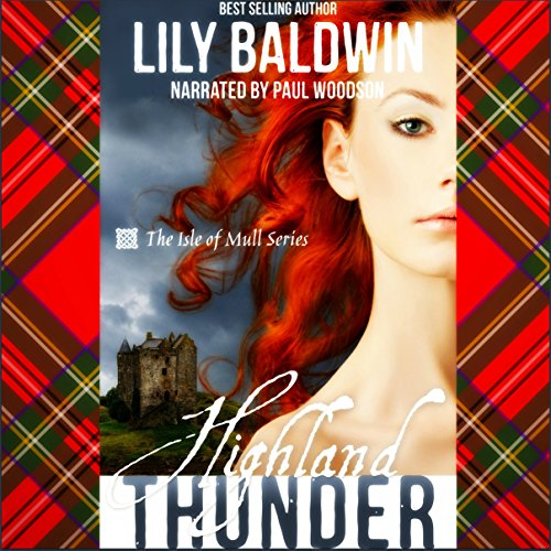 Highland Thunder audiobook cover art