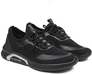 ASIAN Men's Creta-02 Sports Latest Casual Sneakers,Lace up Lightweight Shoes for Running, Walking, Gym
