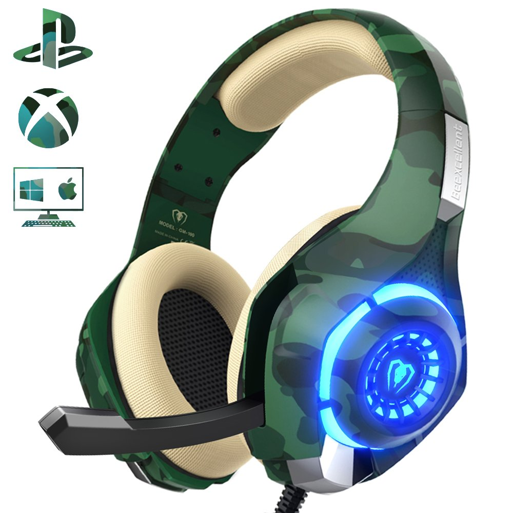 Gaming Headset Beexcellent Stereo Isolation
