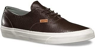 Vans Era Decon Leather Emboss- Seal Brown Men's Sk8 Size 6.5