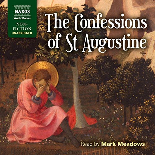 The Confessions of St. Augustine                   Written by:                                                                                                                                 St. Augustine,                                                                                        R.S. Pine-Coffin - translator                               Narrated by:                                                                                                                                 Mark Meadows                      Length: 14 hrs and 50 mins     3 ratings     Overall 5.0