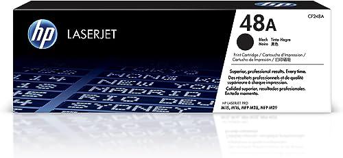 HP 48A | CF248A | Toner-Cartridge | Black | Works with HP LaserJet Pro M15w, MFP M28w, M29w
