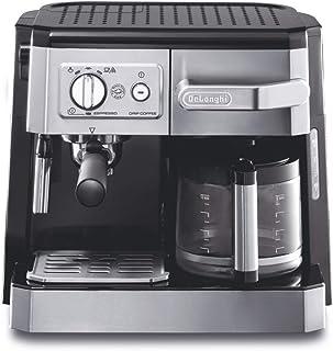 De'Longhi Combi Espresso and Filter Coffee Machine, BCO420, Silver - International Version