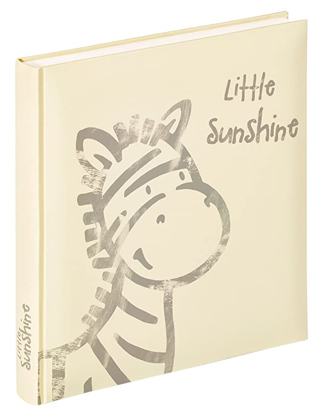 Walther UK Little Sunshine 150?Baby Photo Album 28?x 30.5?cm Design Photo Album, 28.0?x 4.50?x 31.0?cm Cardboard White