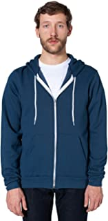 American Apparel Men Flex Fleece Zip Hoodie