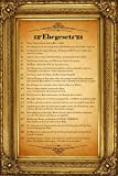 empireposter Ehegesetz - Urkunde mit gedruckten