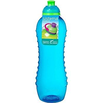 Sistema Hydrate Twist n Sip - Botella de plastico, Azul, 620 ml ...