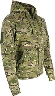 TACTICAL RECON Full Zip con Cappuccio Giacca in pile esercito Felpa con cappuccio polizia di sicurezza con Cappuccio