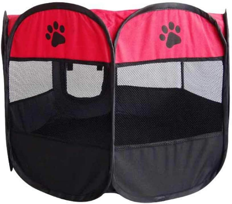 AIAIⓇ Soft Fabric Portable Foldable New Orleans Mall Dog Playpen Cat Pet Puppy Gorgeous