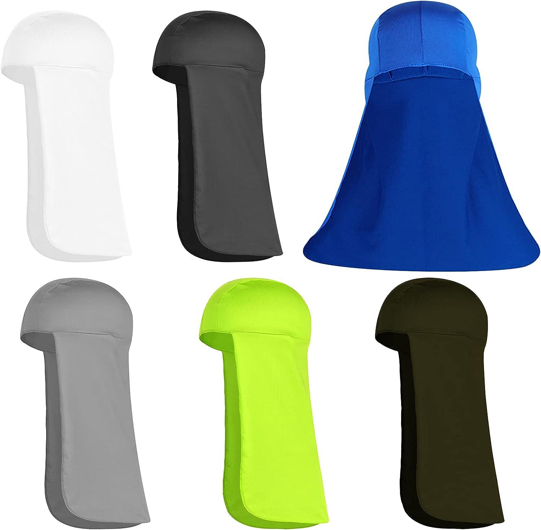 6 NEW before selling Pcs Hard Hat Neck UV Sun Shade Protection San Francisco Mall Visor