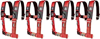 Pro Armor A114220RD Red 4-Point Harness 2