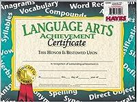 Certificates Language Arts 30/Pk