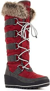 Best cougar waterproof wedge boots Reviews