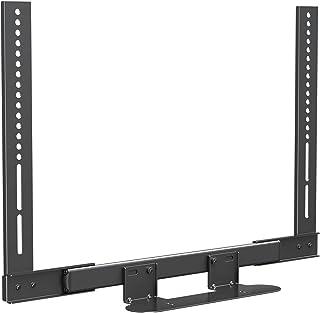 Mounting Dream Soundbar Mount with Easy Access Design for SONOS Beam, SoundBar Bracket with Sliding Block Fits TV up to VE...