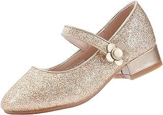 EIGHT KM EKM7012 Girls Mary Jane Low Heel Court Shoes